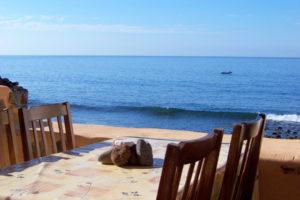 Kleines Ferienhaus am Meer auf Teneriffa