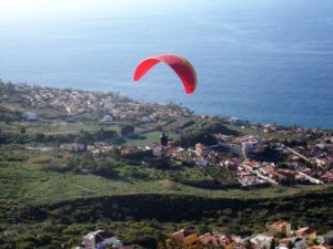 Paragliding Teneriffa El Sauzal